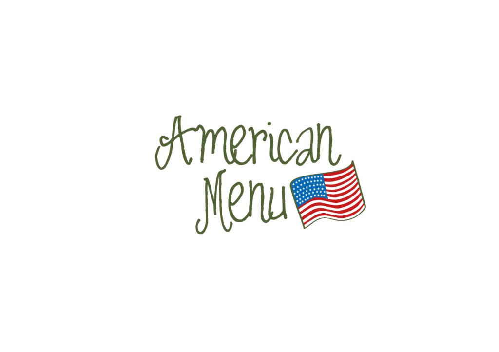 American menu - catering
