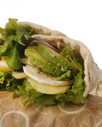CHEVRE & AVOCADO WRAP (L)