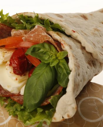 MEDITERRANIAN COLD CUTS WRAP