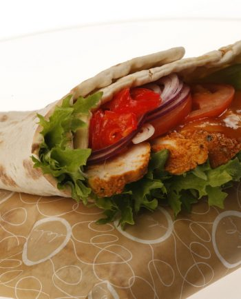 TANDOOR CHICKEN  WRAP (L)