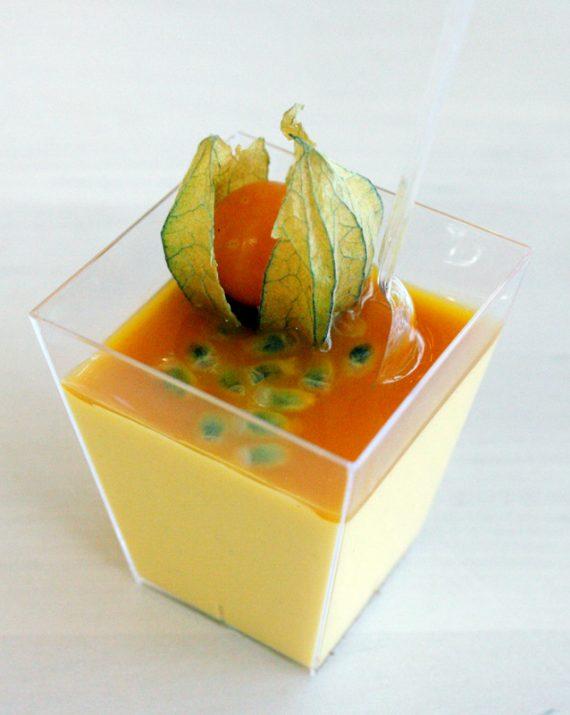 Mango pannacotta pikari