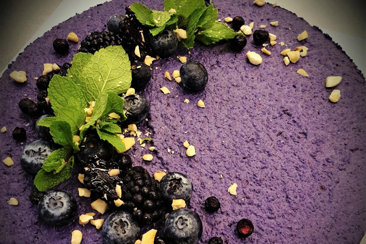 Raaka-kakku (vegaani), 10 Hengen
